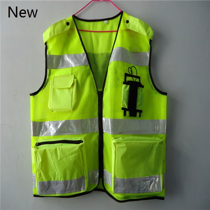ФОТО New Style Printable words cycling safety vest Traffic protective clothing high visibility reflective vests