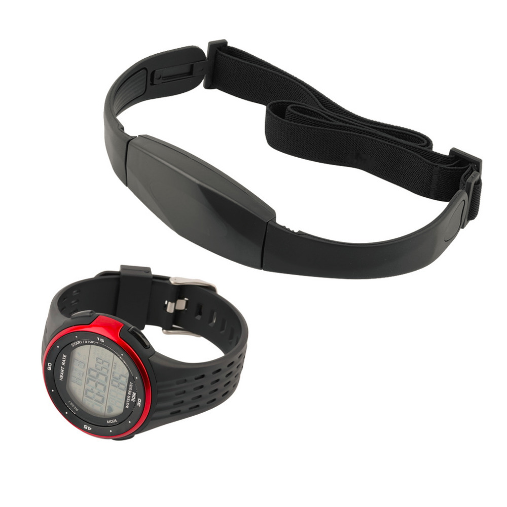 Outdoor Sports Watches Wireless Chest Strap Heart Rate Watch Heart Rate Monitor Watch Chest Belt 2