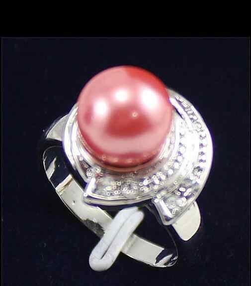 สวย South Sea shell pearl/หยกรอบลูกปัดเครื่องประดับขนาดแหวน 7 8 9