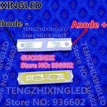 Светодиодный светильник jufei подсветка Зенер диод 1 Вт 6 в 7016 холодный белый ЖК-подсветка для ТВ-телевизора применение 01. JB. YH7016W65N01