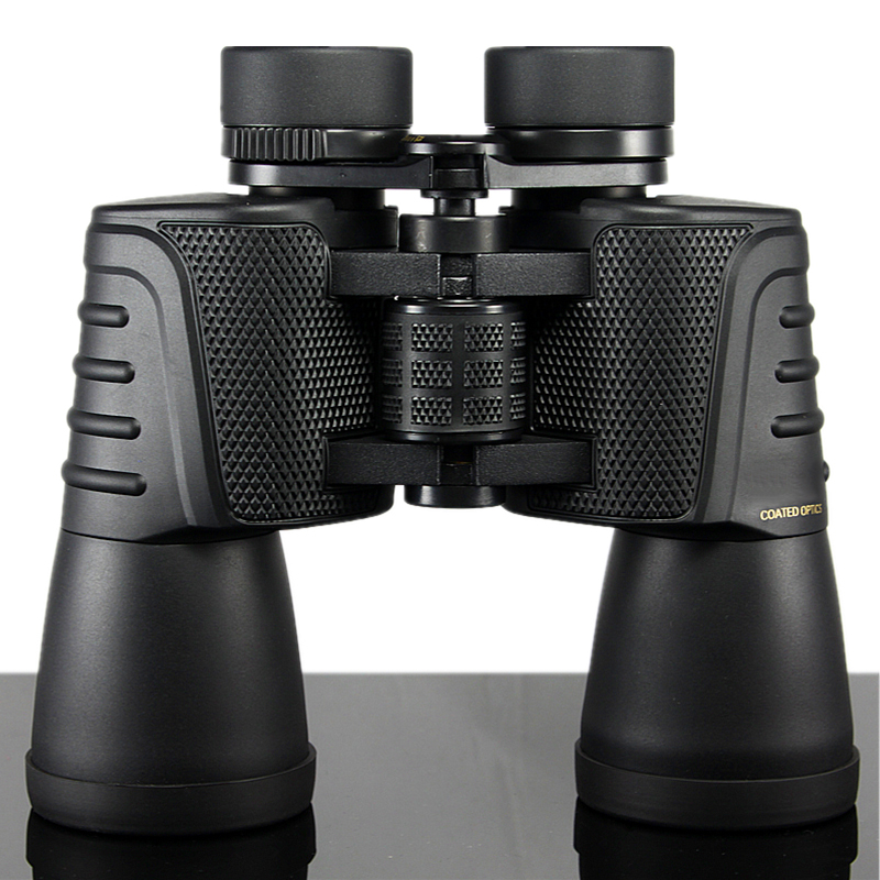 Binoculars 20X50 HD high quality powerful Binocular Telescope Wide Angle Nikon Central Zoom for Hunting Traveling Not infrared Бинокль