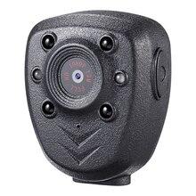 Cámara de vídeo HD 1080P con la solapa del cuerpo de la policía DVR IR noche Visible LED cámara de luz 4 horas grabadora Digital Mini grabadora de voz DV 1