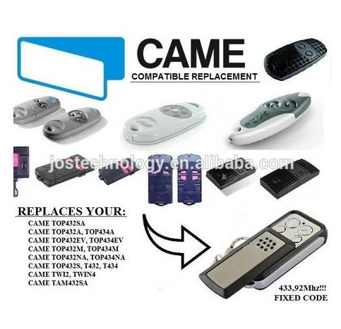 Came TOP 432SA replacement remote control free shipping orihiro трутовик 432 таблетки