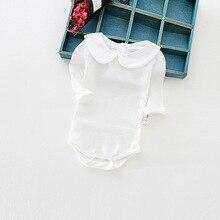 Long Sleeve Cotton Baby Onesie