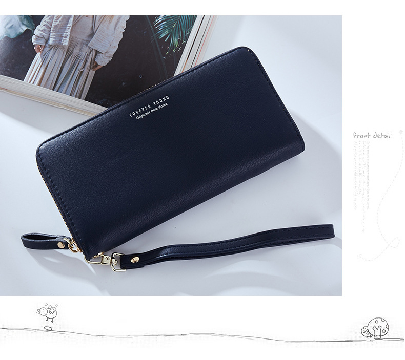 Women Long Clutch Wallet Large Capacity Wallets Female Purse Lady Purses Phone Pocket Card Holder Carteras 28