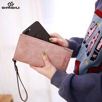 Brieftasche Fall für XIAOMI Redmi 4x Anmerkung 4 HUAWEI iPhone X 8 7 Plus Armband Hand Beutel-kartensteckplatz Große Kapazität Telefon Abdeckung Coque beutel