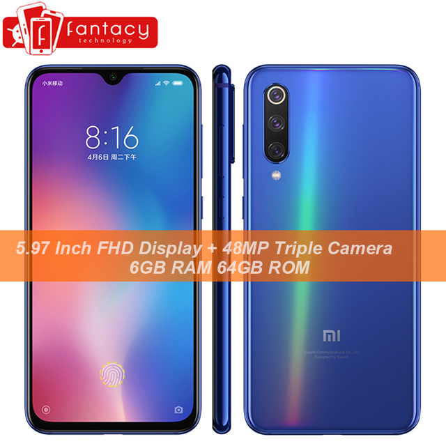 "Original Xiaomi Mi 9 SE Snapdragon 712 6GB 64GB 5.97"" AMOLED FHD+ Screen Smartphone 48MP Triple Cameras NFC Display Fingerprints"
