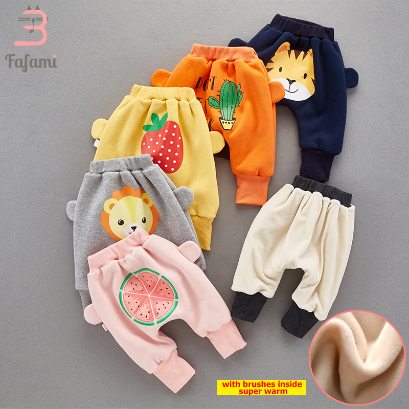 Baby pants Winter baby girl leggings boy unisex Cotton baby trousers Toddlers PP pant Thick Warm baby girl clothes kids leggings