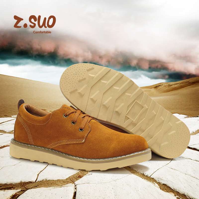 ZSUO ZS5969 Autumn and winter leather tooling male shoes fashion hot trend of the male business