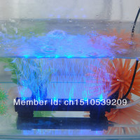 NEW Aquarium Fish Tank BEAMING Underwater Submersible Air Bubble Safe LED Lights 47CM 4 5W