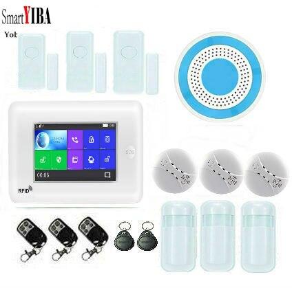 SmartYIBA 3G WiFi Drahtlose Smart Alarm System Sicherheit Home mit Video IP Kamera Anti Diebstahl System mit PIR sensor APP Control - 6