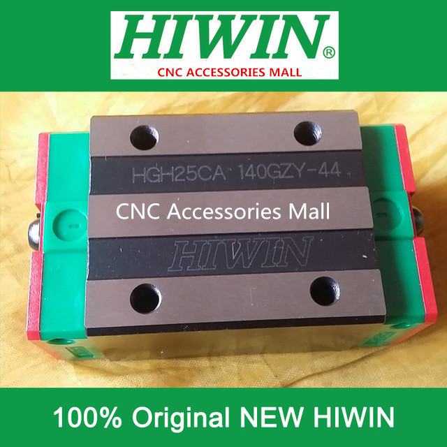 6PCS HGH25CA HIWIN linear guide slider block for linear rails HGR25 original hiwin rail carriage block hgh25ha hiwin slider block for linear rails hgr25
