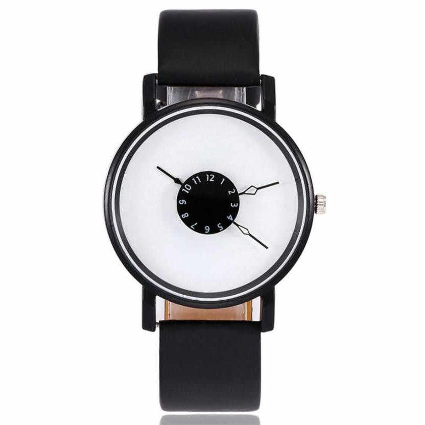 vansvar Women's Casual Quartz Leather Band Newv Strap Watch Analog Wrist Watch Womens Watches Top Brand Luxury Bayan Kol Saati