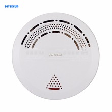 DIYSECUR YG-03 Wireless Smoke Detector for Our Related Home Alarm Home Security System 433Mhz Smoke Sensor