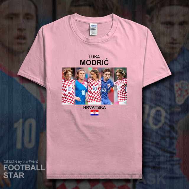 f0388b5c1a1 luka modric t shirt men jerseys croatia footballer star brand real