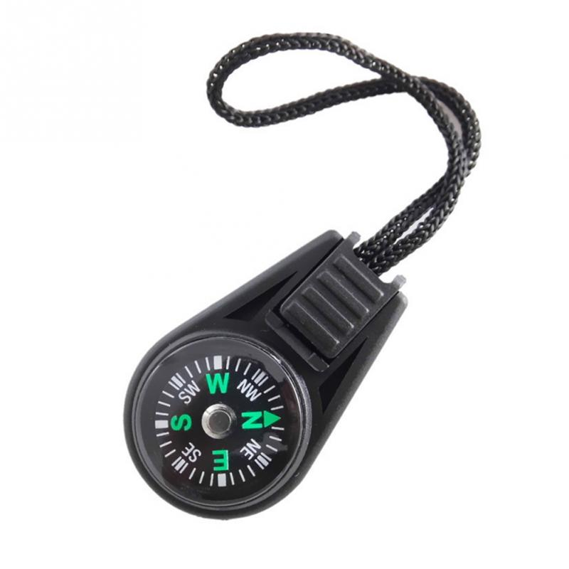 Best selling Mini Pocket Compass Navigator for Camping Caving Hiking Hiker with Sling/Lanyard ...