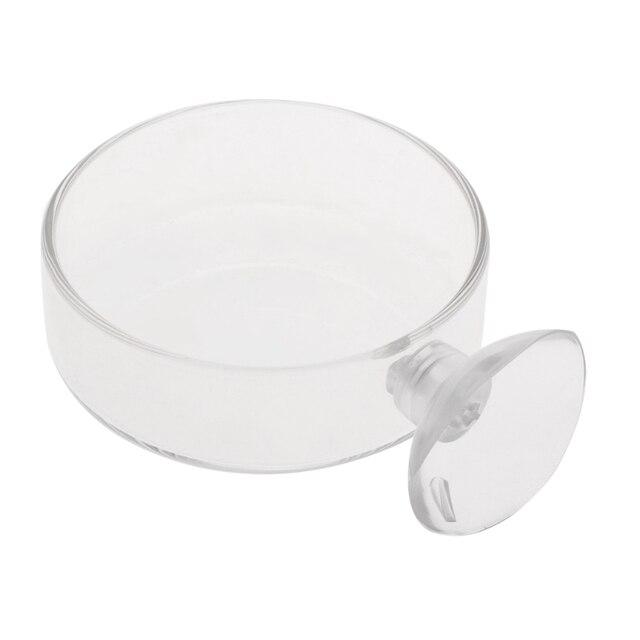 Прозрачный стеклянный контейнер для кормления креветок Стандартная
