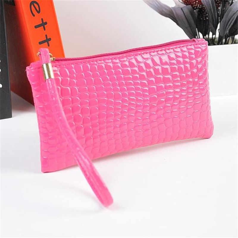 Molave портмоне новый высококачественный кожаный Для женщин модные Аллигатор Крокодил Сумочка клатч портмоне женщина feb6