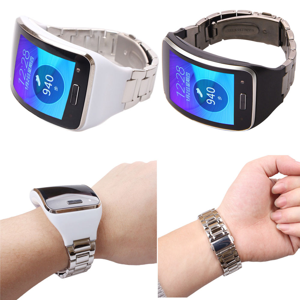 Replacement Wrist Band Strap Bracelet w//Clasp For Samsung Galaxy Gear S SM-R750
