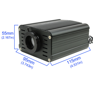 Image 4 - 16W RGBW LED fiber optic Star Ceiling Kit lights 200/300/350/450pcs *0.75mm with 2M  Optical fiber for star sky ceiling