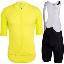 цена на 2018 Cycling Jersey Sets Short Sleeve+bib shorts Summer MTB Cycling Clothing Bicycle Clothing men cycling wear maillot ciclismo