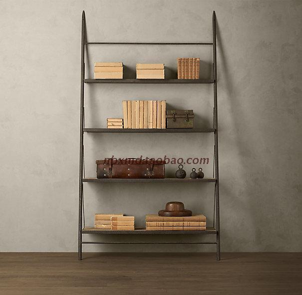 Francés sencilla estantería Ikea muebles hace of madera maciza mash ...