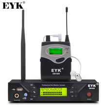 EM 600 UHF Wireless In Ear Monitor System Professional Stage Performance Ear Monitoring Systems with One Bodypack Transmitter