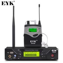 EM 600 UHF אלחוטי באוזן צג מערכת מקצועי שלב ביצועים אוזן ניטור מערכות עם אחד Bodypack משדר