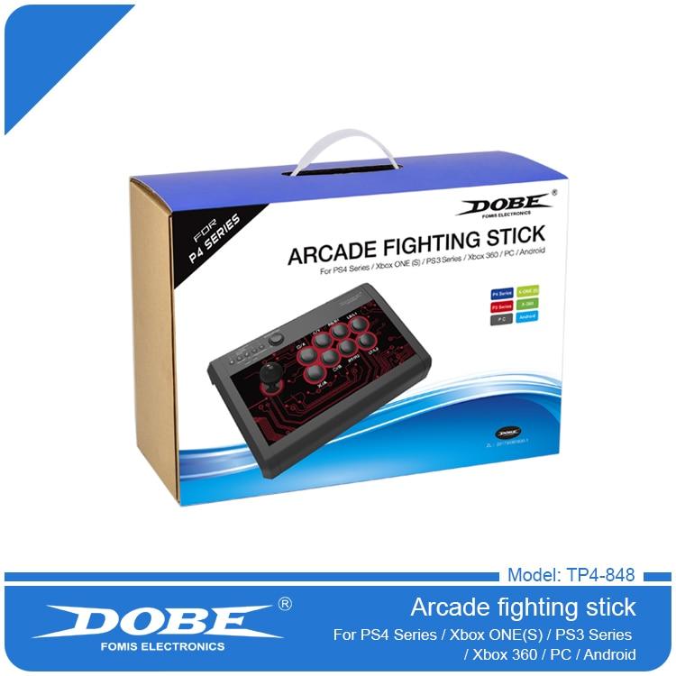 Nouveau Arcade Fightstick Pour PS4 PS3 XBOX UN Android DOBE TP4-848