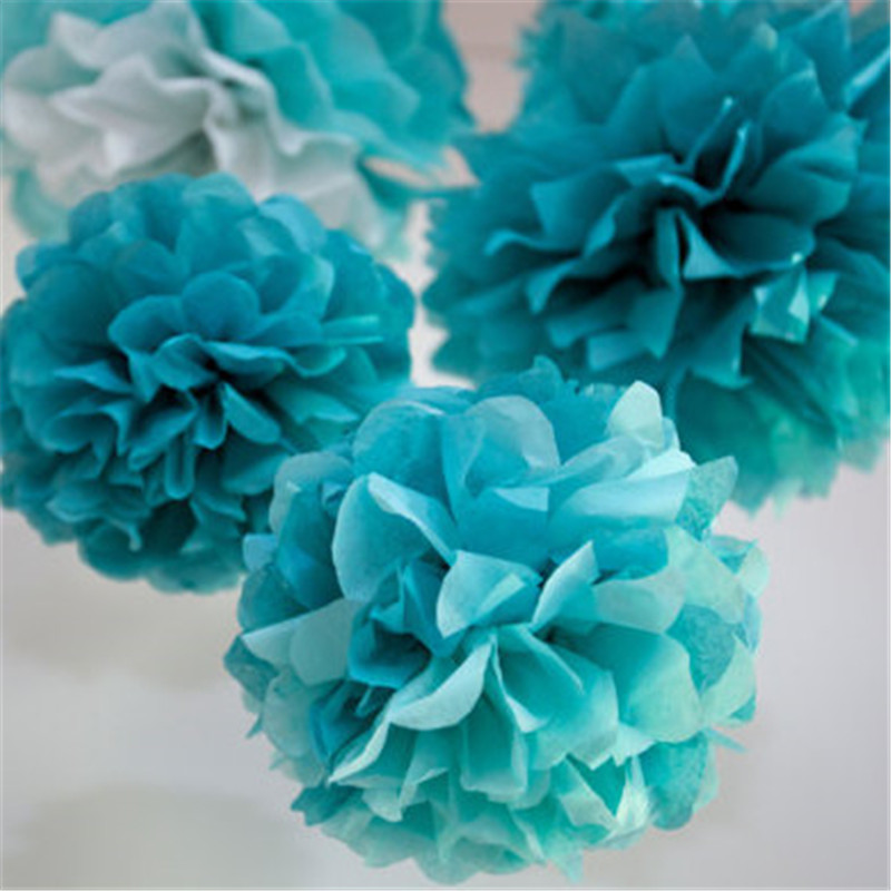 20PCS 6inch 15cm Tissue Paper Pom Poms Pompons Artificial Flowers Wedding Decorations Party Ideas Supplies Wholesalers : tissue paper flower decoration ideas - www.pureclipart.com