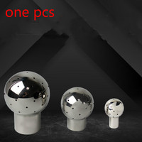 DN15 DN50 Female Thread 304 Stainless Steel Sanitary Fitting Fix Spray Ball Tank Cleaning Ball