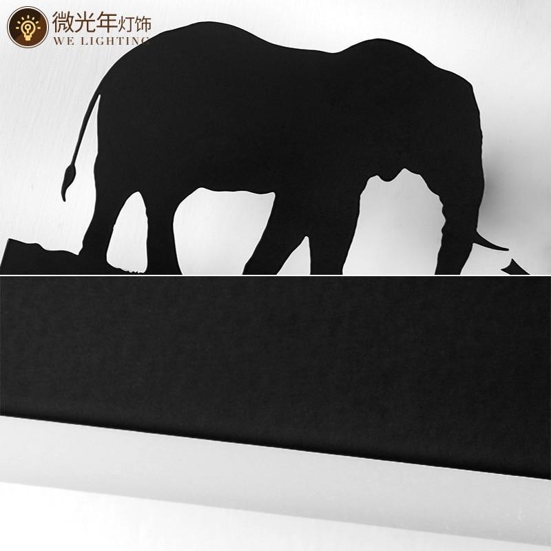 Black Acrylic Creative Modern Led Wall Light For Living Room Beside Room Bedroom Lamps LED Sconce Bathroom Wall Lamp LED Lustres - 5
