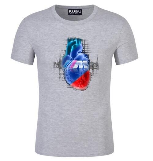 Hip Blut Auto Shirt Tee Cars T Hop Power Logo Printed M Bmw Manner EW29YHDI