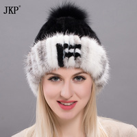 Fur Mink Grass Lady Girl Hats For Women Manual High Sew Archive Winter Keeping Hot Fox