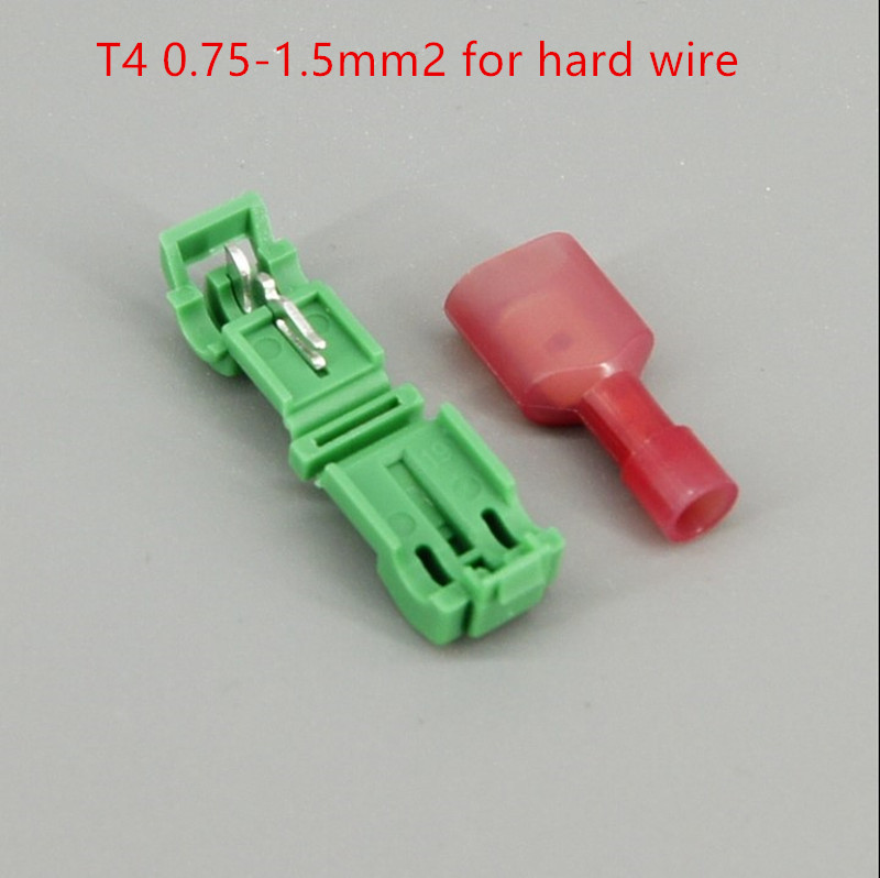 0 5 1 5 0 75 2 5 4 6mm2 Without stripping Scotch Lock Quick Splice Wire Connector wiring connection jointing clamp 20PCS 1LOT in Connectors from Lights Lighting