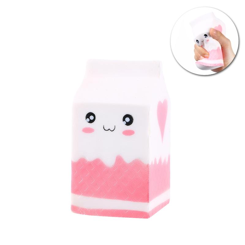 12cm Squishy Milk Antistress Squishe Stress Relief Slow Rising Novelty & Gag Toys Fun Gadget Surprise Kid Entertainment Gifts #6