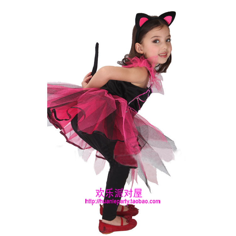 Christmas childrenu0027s clothing for girls cosplay costume masquerade pretty small black cat costume skirt special-in Lab Drying Equipment from Office u0026 School ...  sc 1 st  AliExpress.com & Christmas childrenu0027s clothing for girls cosplay costume masquerade ...