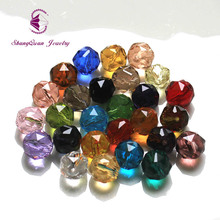 Фотография Wholesale 10mm Round Loose Beads Multi Color DIY Bracelet Necklace Round Facet Cutting Beads For Jewelry Free Shipping