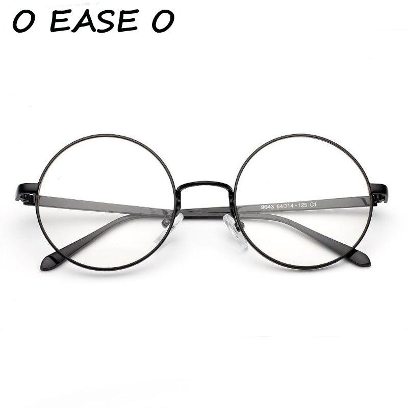 ③2017 Nuevo Retro Vintage Plain ojo Gafas Seguridad aleación Gafas ...