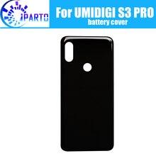 UMIDIGI S3 PRO 배터리 커버 하우징 100% 오리지널 신형 내구성 백 커버 하우징 UMIDIGI S3 PRO 용 휴대 전화 액세서리
