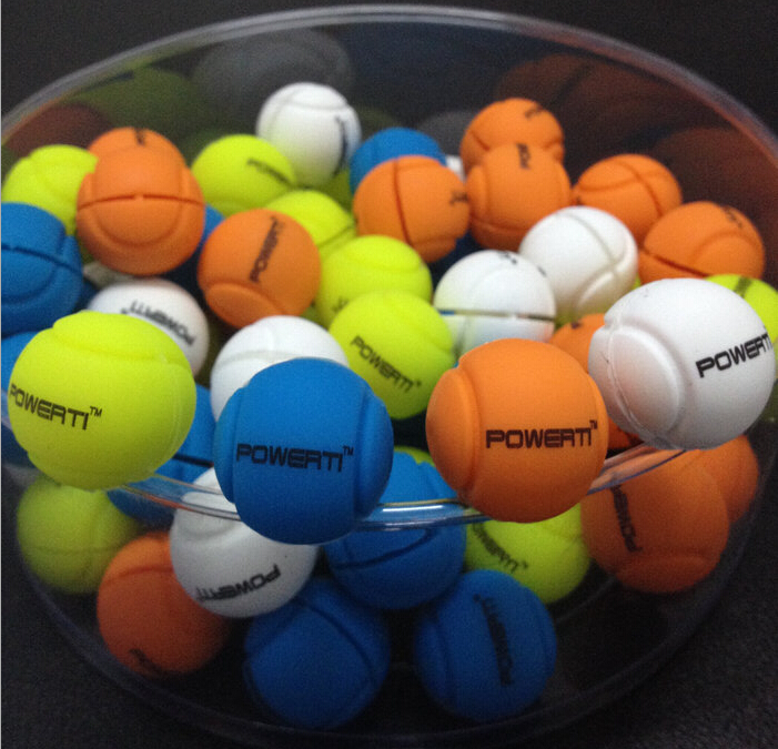 1 Pc PT Ball Tennis Damper Shock Absorber To Reduce Tenis Racquet Vibration Dampeners Raqueta Tenis Pro Staff Bracelet