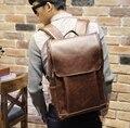 Fashion Leather Men Backpack Brand High Quality Black Woman Backpack Men Travel Bag Duffel Bag Backpack
