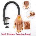 Beautee Professional Nail Trainer Tool Super Flexible Fingers Personal & Salon Adjustable Practice Hand Nail Training
