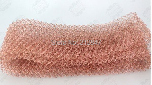 Copper Mesh for distillation,Pure Copper Packing, length 2m, 136G,width 10cm ,wire diameter 0.16mm лампа галогенная космос jc 12в 50вт g6 35