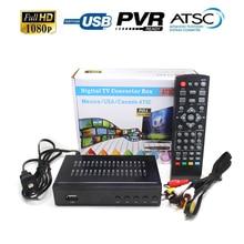 2018 Satellite receiver HD Digital DVB ATSC TV Tuner Receivable MPEG4 DVB-ATSC TV Receiver Tuner Free Shipping Support bisskey