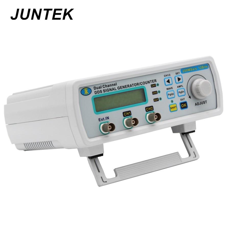 JUNTEK MHS5200A 25 mhz デュアルチャンネルデジタル信号発生器 DDS ファンクションジェネレータ周波数発生器任意波形/パルス  グループ上の ツール からの 信号発生器 の中 1