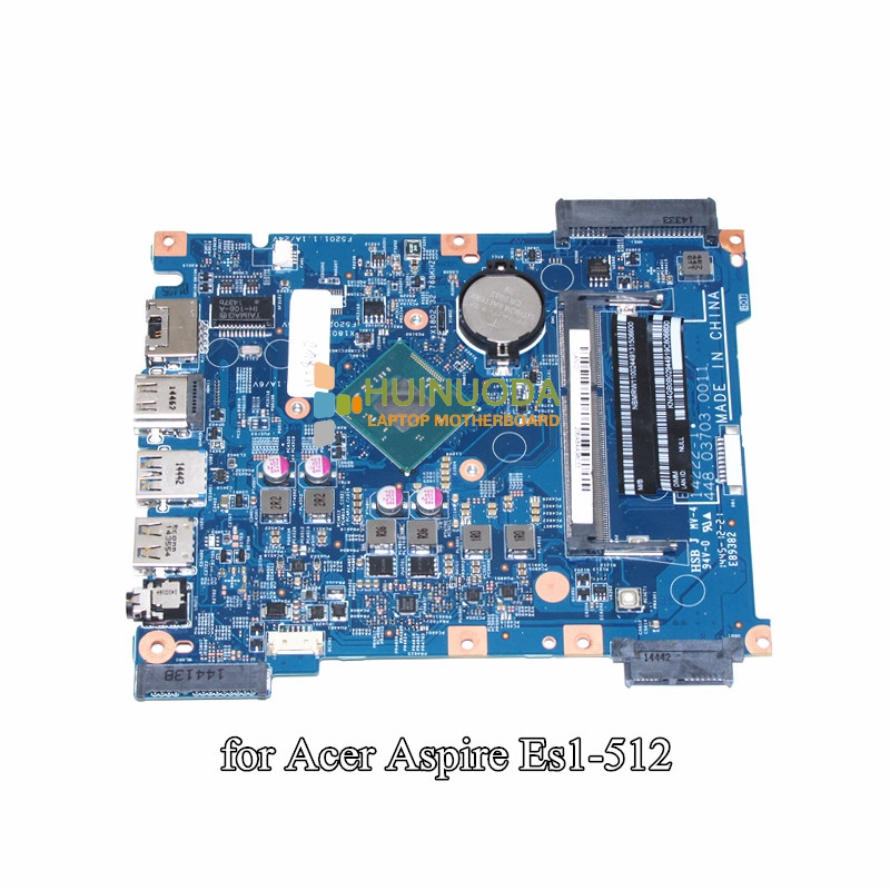 NOKOTION NBMRW11002 NB.MRW11.002 For Acer Aspire ES1-512 Laptop motherboard 448.03703.0011 N2840 CPU DDR3 floral pattern wide brim oversized summer hat