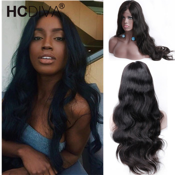 13*4 Body Wave Lace Front Human Hair Wigs For Women Pre Plucked Hairline With Baby Hair 10-24Inch 150% Brazilian Remy Human Hair
