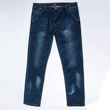 10XL 8XL 6XL 5XL New Stretch Cotton Breathable Straight Fit Jeans Men Thin Summer Men's Denim Jeans Long Pants Lightweight Jeans