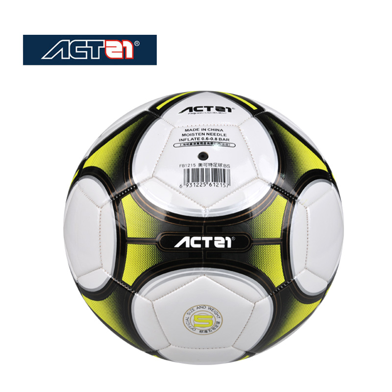 Actei High Quality Top PU 5# Wear-resistant Hand-sewn Football Outdoor Training European Standard Competition Special Ball 2018